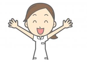 岩手県盛岡市のおすすめ脱毛サロン 両手を広げて喜ぶ女性の画像