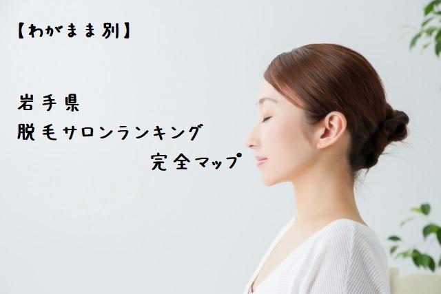 岩手県【わがまま別】脱毛サロンランキング完全マップ